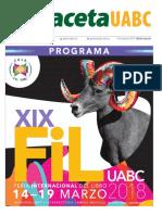 Edición Especial FIL UABC 2018