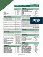 Atajos Excel