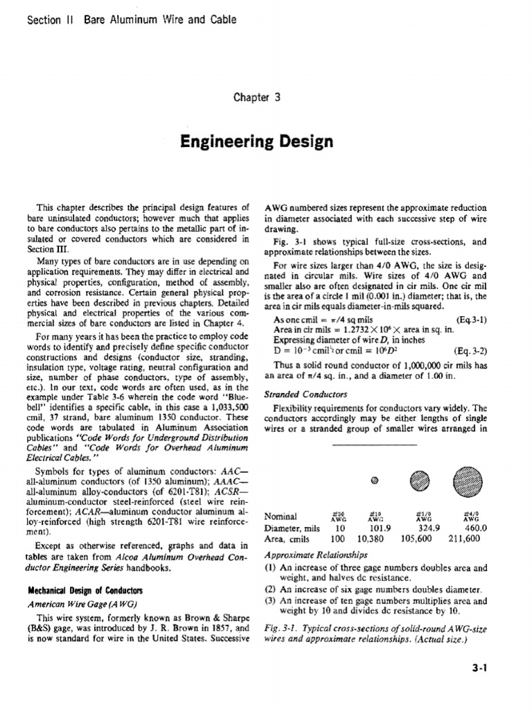 Chapter 3 Engineering Design.pdf   Wire   Electrical Resistance And ...