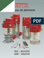 Manual de Servicio Bombas Grindex