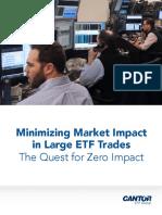 """Cantor """"Minimizing Market Impact"""" Whitepaper"""