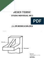 Desen Tehnic-studiu Individual 3