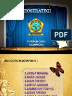 GEOSTRATEGI INDONESIA KELOMPOK 6.pptx