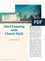 Steel Framing With Classic Style