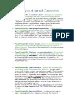 princípios de Composição - Percy
