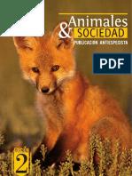 Animales y Sociedad. Publicación Antiespecista
