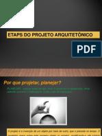 Etapas de Projeto2018