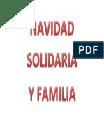 Navidad Solidaria y Familia