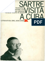 Sartre - Entrevista Com Intelectuais Cubanos [1961]