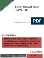 Epidemiologi Penyakit Tidak Menular-dm