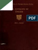 Antiquity of Disease(Moody)