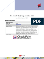 Nokia Checkpoint R65 and RSA Authentication Manager