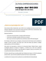 El Principio 80 20 - Resumen