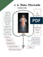 Coronilla de La Divinia Misericordia. en Latin Castellano QjS9Ej229kHC1LMBAtHAFTB7J
