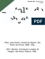 A gestalt aplicada à direção de arte em Publicidade. (parte 3) Prof. Alexandre Mota.