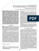 1993 - Diamond - Microstructure of Hardened Cement Paste
