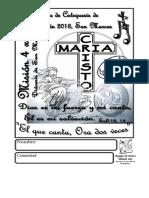 Cancionero Retiro Mision 4x4