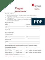 Intern Contract 2010