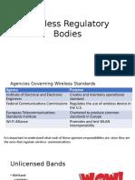 S3L6 Regulatory Bodies for Wireless