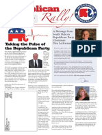 Republican Rally March 2018 Newsletter