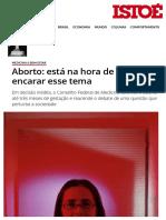 Aborto_ Está Na Hora de o Brasil Encarar Esse Tema - IsTOÉ Independente