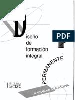 GOMES G. ISMAEL - RUVIN DE CELIS M., Diseño de formación integral.pdf