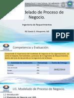 U1 - Modelado de Proceso de Negocios.