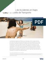 VIS10105 PLATINUM Travel Accident Insurance SPA_April2015 v 2