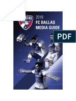 2018 FC Dallas Media Guide