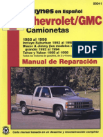 Chevrolet Gmc 1988 1998 Camionetas Taller