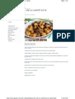 Friptura de Vita Cu Cartof