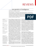 The New Genetics of Intelligence