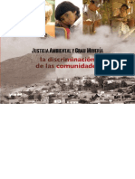 Justicia Ambiental y Gran Minería. La discriminación de las comunidades