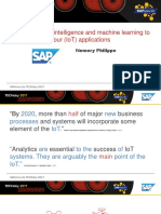 2 1 Adding Artificial Intelligence and Machine Learning to Your SAP