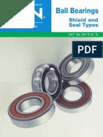 NTN Ball Bearings Shield and Seal Types - Product Catalog.pdf