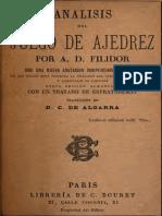 Analisis Del Juego de Ajedrez - Philidor