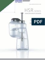 DENSO Robotics HSR Brochure