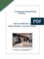 Informe Estimacion de Riesgo - Feriab Regional