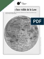 Carte Lune Face Visible