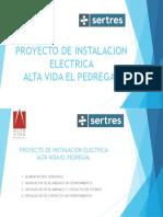 Proyecto de Instalacion Electrica Altavida