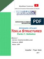 Apprendre a Utiliser Tekla Structures_partie 2 Initiation