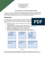Diseño de Base de Datos. Unidad 1. Consigna 1.2 – 2018