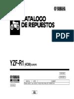 2. Manual de Despiece YZF R1 2007-2008