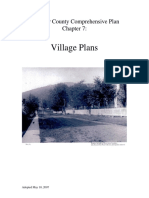 Fauquier County comp plan village plans