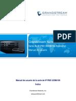 UCM61xx User Manual Spanish