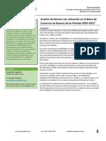 Analisis Fundamental  de bancos