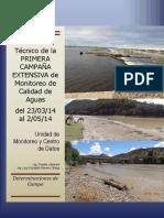Informe Tecnico Agua Calidad
