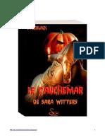 Le cauchemar de Sara Witters-SteeBlackStoriesEditions© 2014