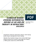 Clobazam Higher-evening Differential Dosing as an Add-On Therapy Ppt