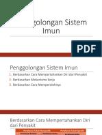 Penggolongan Sistem Imun Lexi.pptx